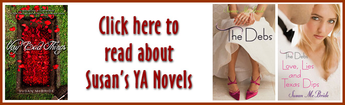 YA Novels by Susan McBride